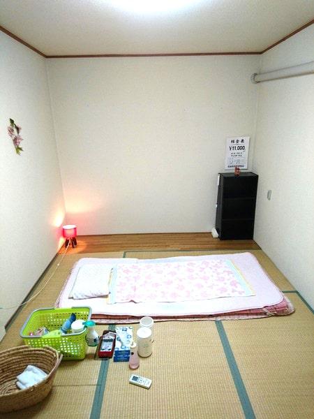 飛田新地の仕事部屋