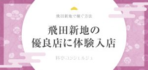 飛田新地で体験入店しよう!体入の流れ&稼げる料亭を選ぶ方法を解説