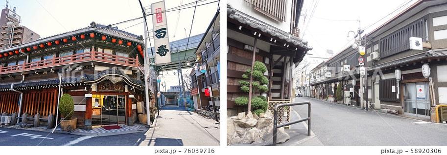 飛田新地の有料写真素材