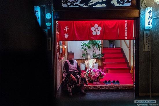 飛田新地(千華)で働く女性の写真
